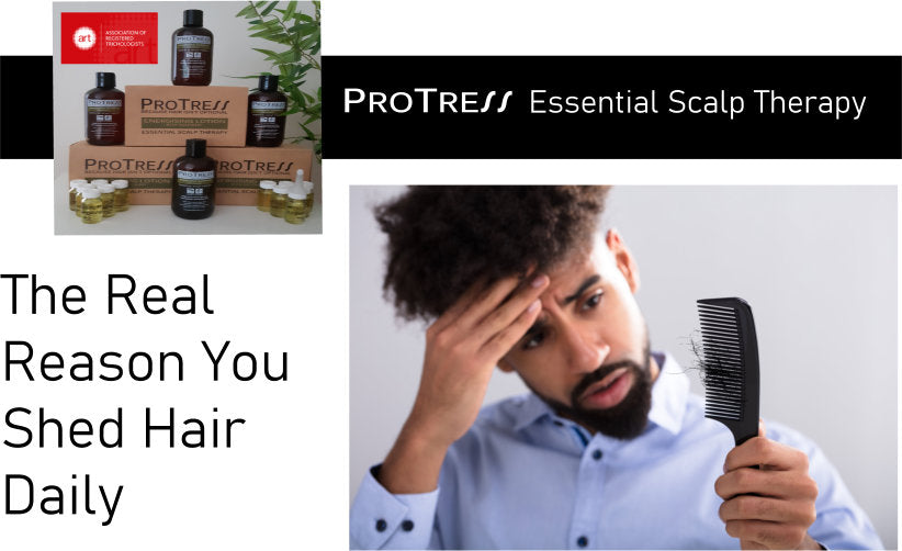 the real reason you shed hair daily. Find out about the hair growth cycle and how to avoid abnormal hair loss
