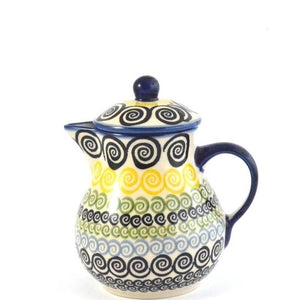 Jug with lid 0.6L Swirls