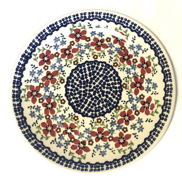 Breakfast Plate 22 cm Flowers MM01