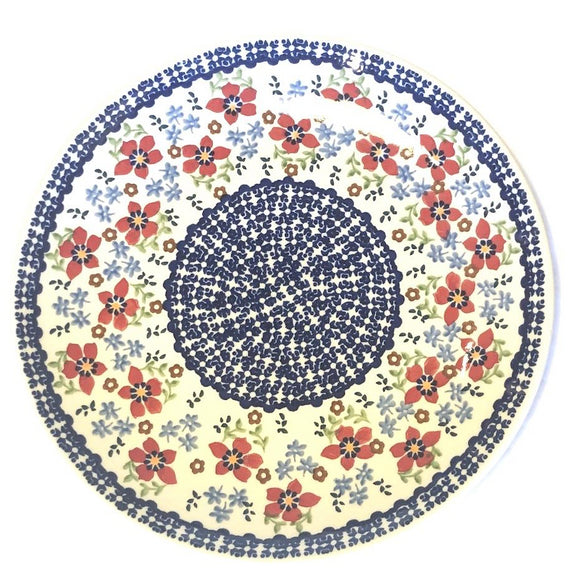 Dinner Plate 26cm Flowers MM01