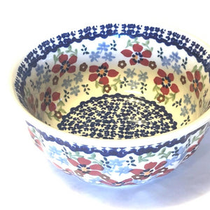 Rippled Bowl 400 ml Flowers MM01