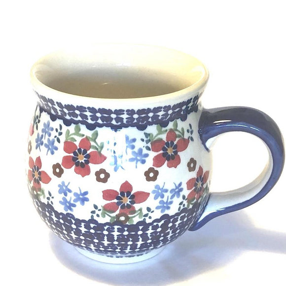 Mug Belly large Flowers MM01