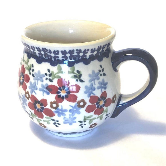 Mug Belly small Flowers MM01