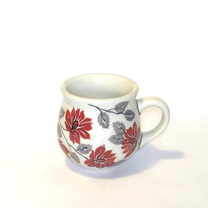 Mug Belly small Flowers KS01
