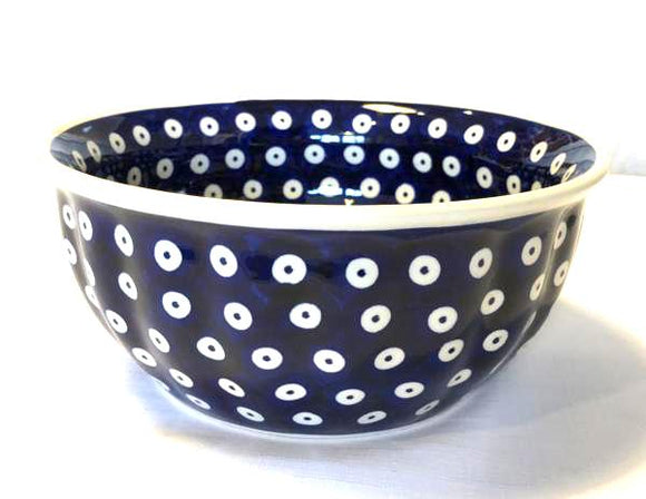 Salad Bowl medium dots