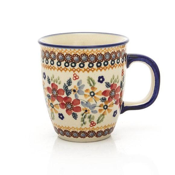 Mug Mars medium Red Daisy