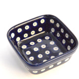 Small Square Bowl 150 ml Dots