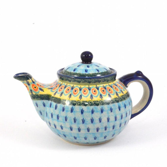 Teapot regular 1,2L Blue Peacock