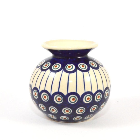 Small Vase Peacock