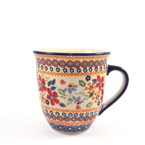 Mug Mars large Red Daisy