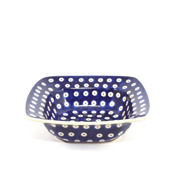 Square Serving Dish Dots