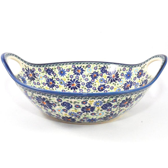 Presentation Dish with handles, large