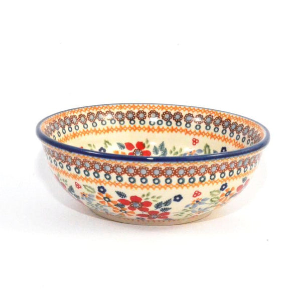 Soup Bowl 700 ml Red Daisy