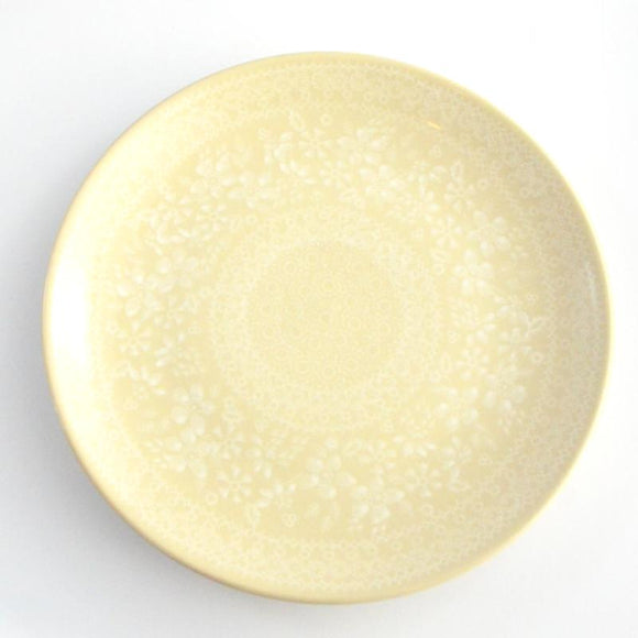 Dinner Plate 26cm White Lace