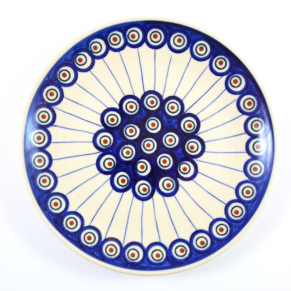 Breakfast Plate 21cm Peacock