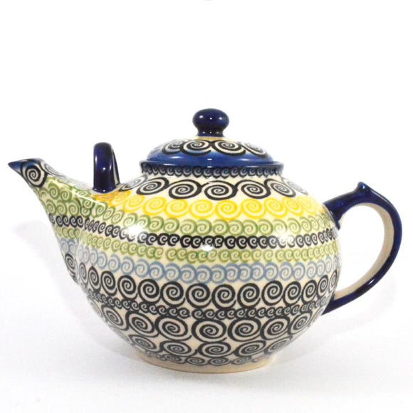 Teapot large 3L Swirls
