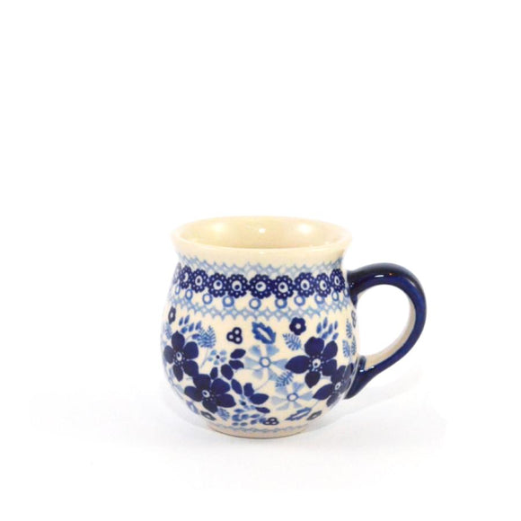 Mug Belly small Blue Daisy