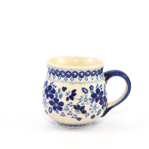 Mug Belly medium Blue Daisy
