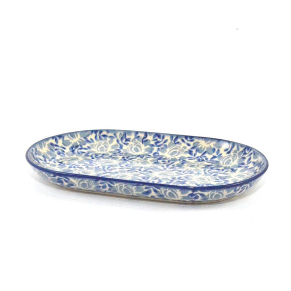 Serving Dish oval 23cm Bellflowers