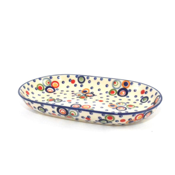 Serving Dish oval medium Circles