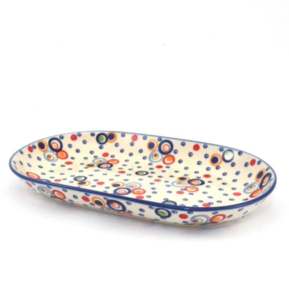 Serving Dish large Circles