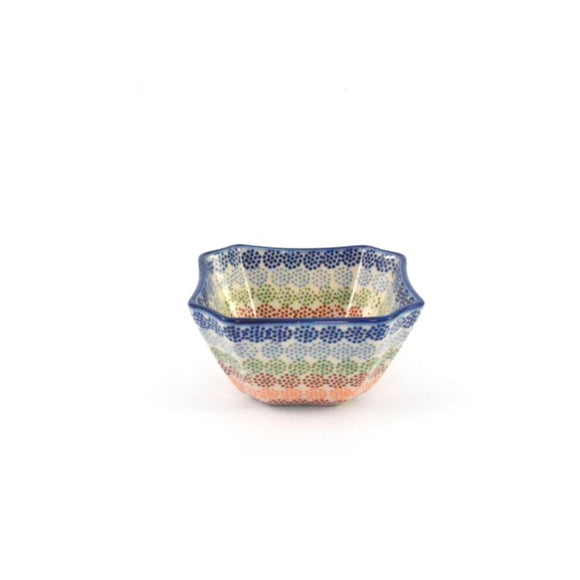 Serving Dish / Bowl small Crazy Dots