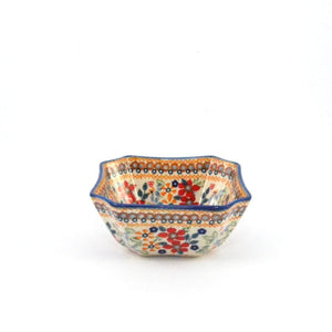 Serving Dish / Bowl s/m Red Daisy