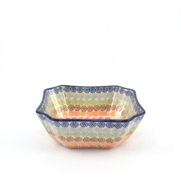 Serving Dish / Bowl medium Crazy Dots