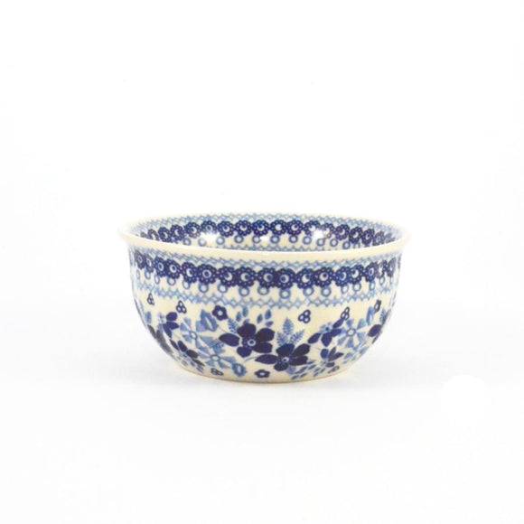 Rippled Bowl 400 ml Blue Daisy