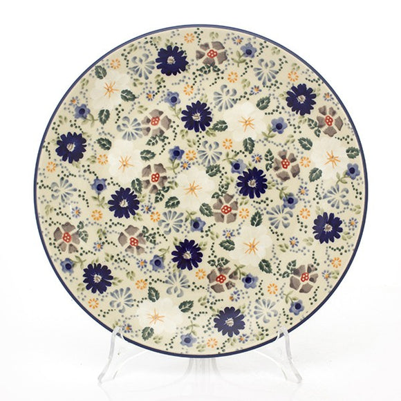 Dinner Plate 26cm Flowers EO35