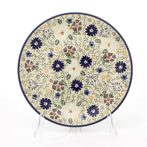 Breakfast Plate 22 cm Flowers EO35