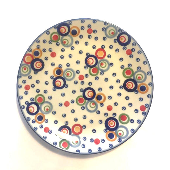 Breakfast Plate 21 cm Circles