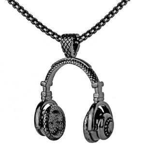 Headphone Pendant Necklace