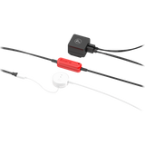 boost power cable attached to puck and power adaptor
