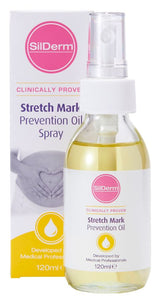 SilDerm™ Stretch Mark Prevention Oil 120ml