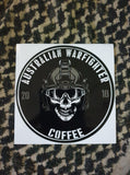 Skull Helmet Sticker