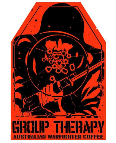 Group Therapy Target Sticker
