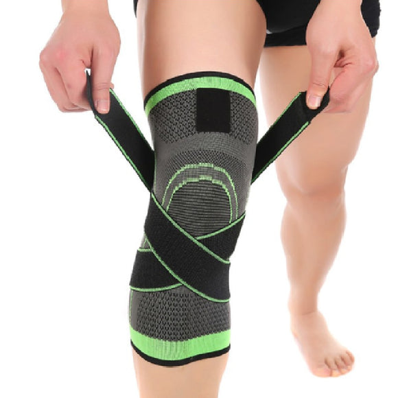 Mumian Pressurized Fitness Running Cycling Bandage Knee Support Braces Elastic Nylon Sports Compression Pad Sleeve 40FP27