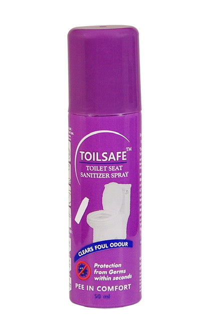 Toilsafe Toilet Seat Sanitizer Spray - 50 ml
