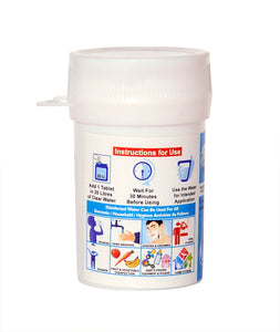 Aquapura Hygiene 20 - Water Purification Tablets for Drinking & Hygiene at Home/Workplace - Each Tablet for 20 Litres Water