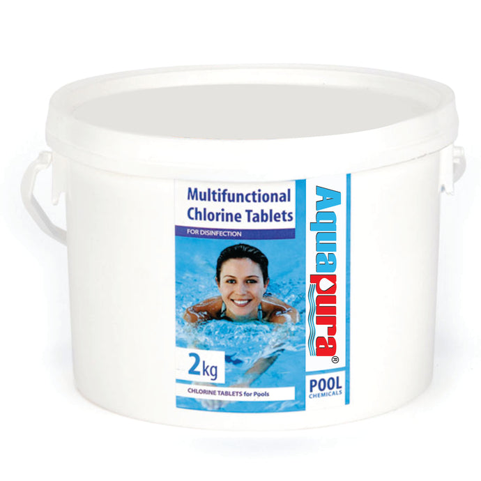 <div>Aquapura Poolsafe Tablets</div><p>Swimming Pool Water Purification / Disinfection & Maintenance Tablets