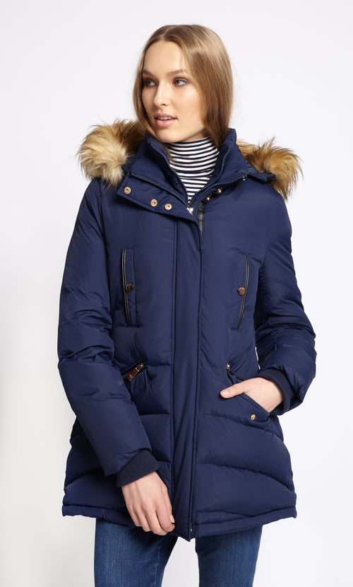 Carolina Cavour Coated Poly Pongee Jacke - CC17W020