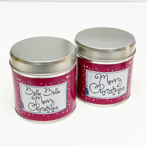 Balle Balle Merry Christmas Scented Candle