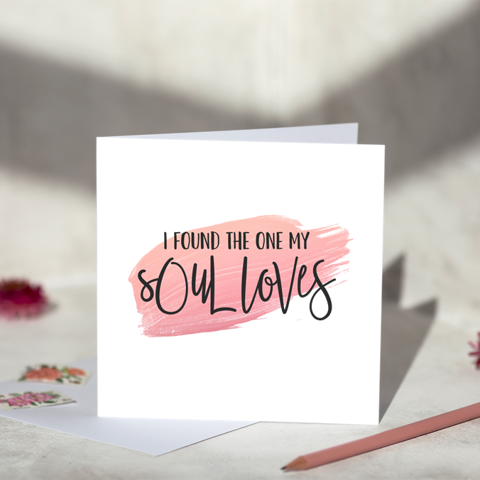 My Soul Loves Greeting Card