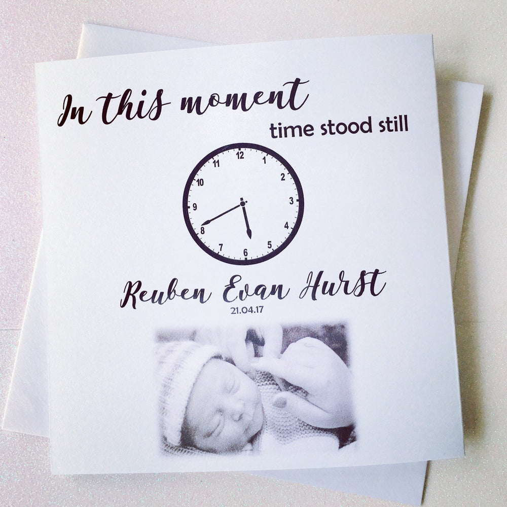 In this Moment Time Stood Still Card
