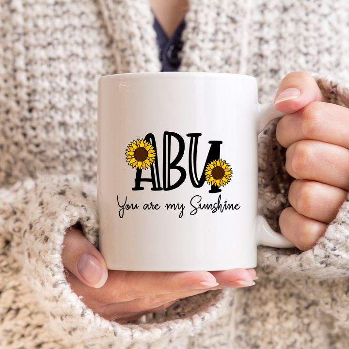 Abu You are My Sunshine Mug