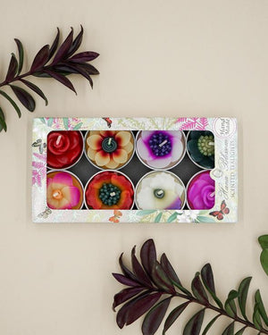 Assorted Tropical Flower Scented Tealights