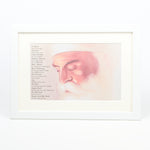 A4 Framed Guru Nanak Print Including Mool Mantar in English With Translation