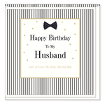 Mad Dots Husband Birthday Card