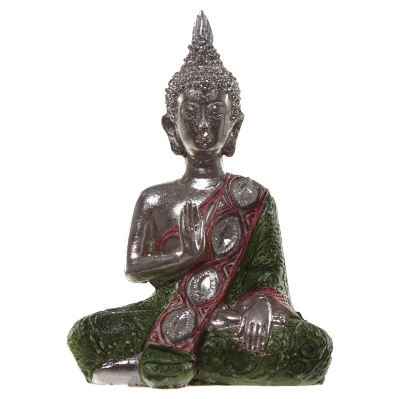 Metallic Thai Buddha - Lotus